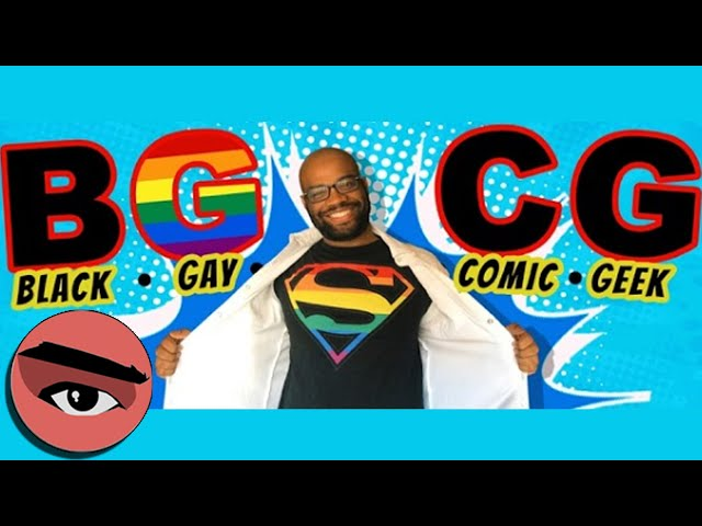 Black Gay Comic Geek is Here! Comic Watchers Show E084