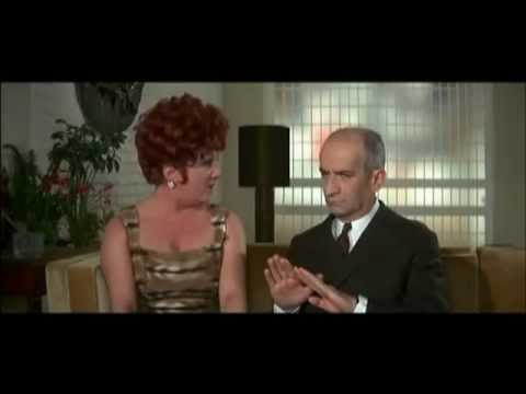 Louis de Funes - Darling ! Yes ? Remix