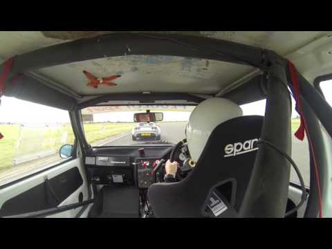 Peugeot 106 Rallye at Bedford Autodrome Trackday 2016