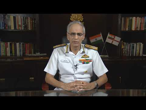 Navy Chief Admiral Karambir Singh Message (English) I 2019