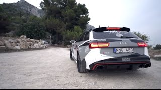 Gumball Audi RS6 with Milltek exhaust