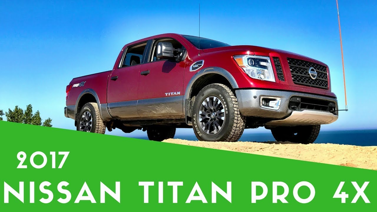 2017 nissan titan review pro 4x off road fun youtube. Black Bedroom Furniture Sets. Home Design Ideas