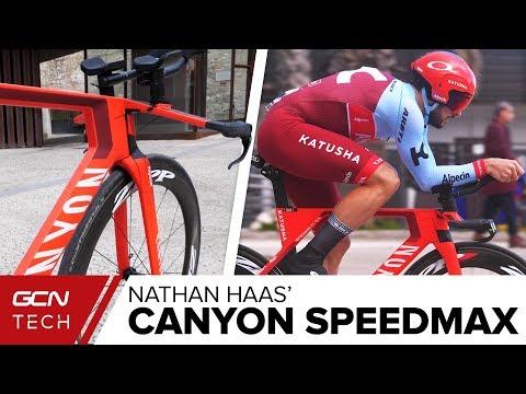 Nathan Haas' Canyon Speedmax CF SLX Training Bike