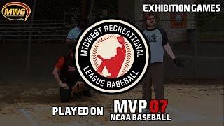MWG -- MVP 07 NCAA Baseball -- MRLB Exhibition Showcase Games