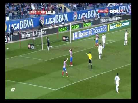 2011/12.- Atlético Madrid 0 Vs Albacete Balompié 1 (Dieciseisavos Vta - Copa del Rey)