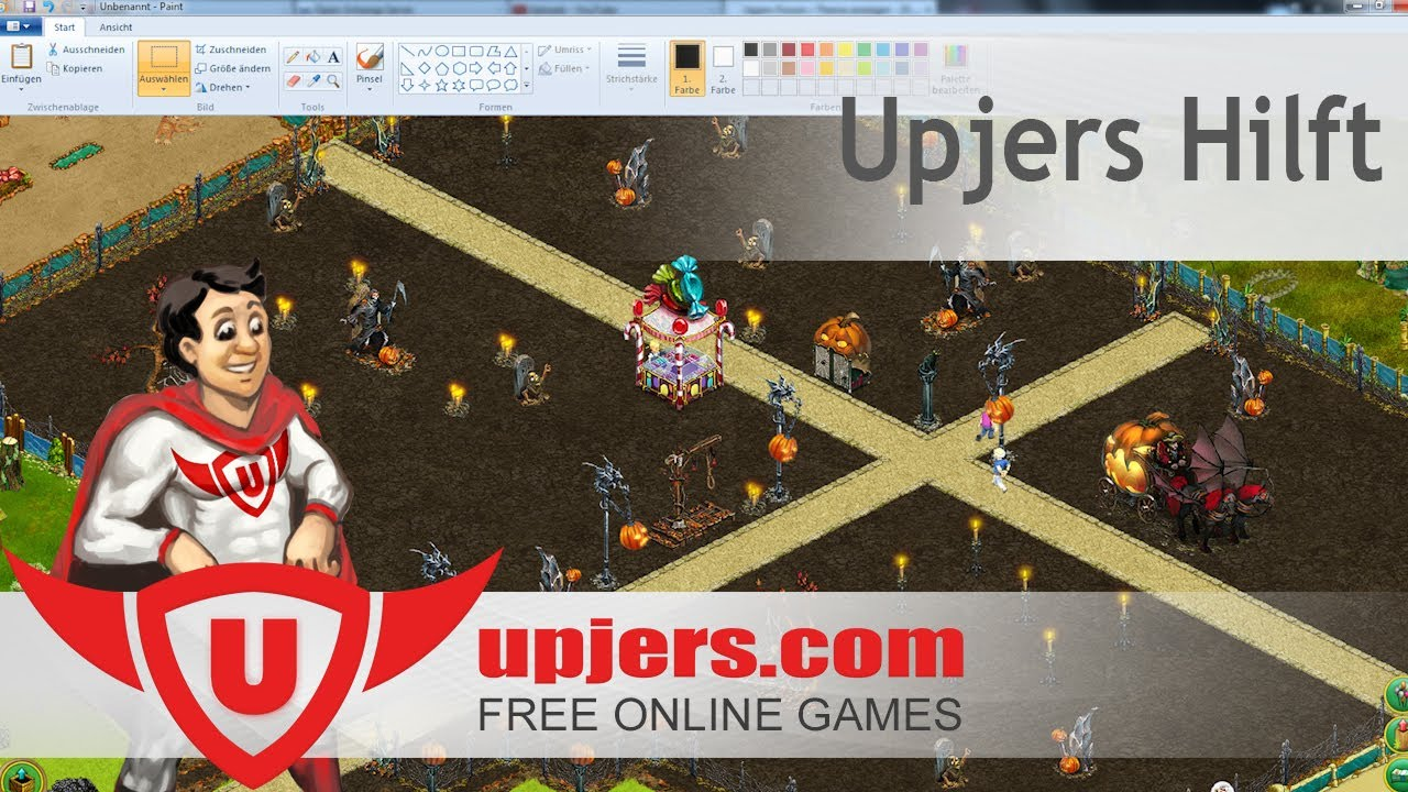 Upjers Hilft Screenshot erstellen Upjers Screencast