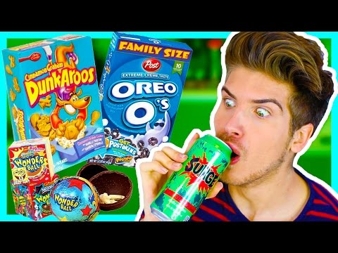TASTING DISCONTINUED SNACKS!