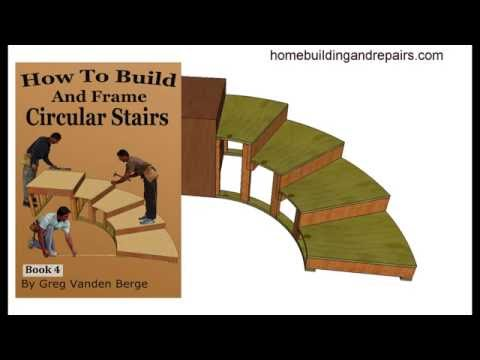 Learn How To Build And Frame Circular Stairs Example From Book