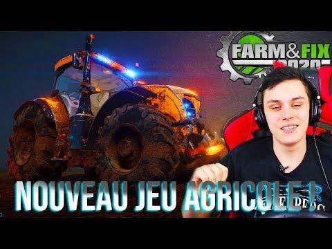 UN NOUVEAU JEU AGRICOLE ! (FARM & FIX 2020)