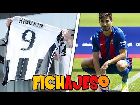 GONZALO HIGUAÍN A LA JUVENTUS | ANDRE GOMES AL FC BARCELONA | FICHAJES DE LA SEMANA #3