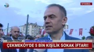 Kanal D Çekmeköy39;de ilk iftar