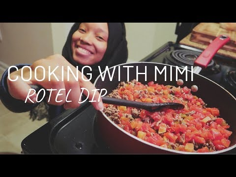 COOK WITH ME: ROTEL (QUESO) DIP W/GROUND BEEF | AllThingsMiMi
