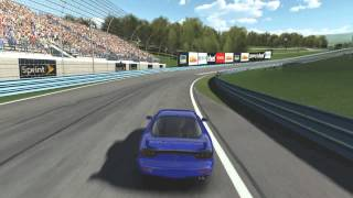 ACR/Auto Club Revolution - PC Race Car Game.  Chase View.