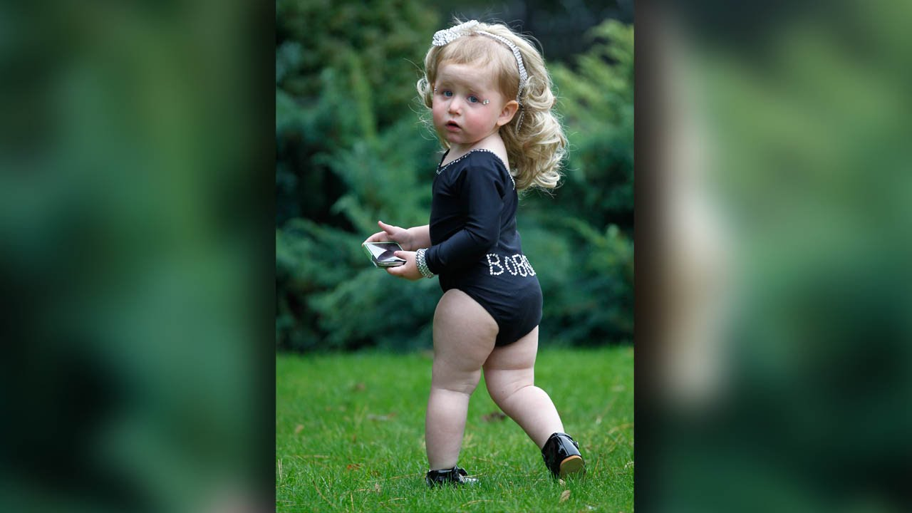 Baby Beyonce 19 Month Old Beauty Queen Wowing Crowds With