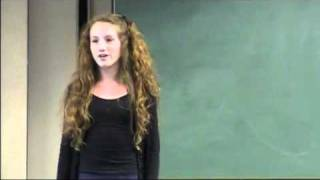 Rachel Renaud - Phobia speech