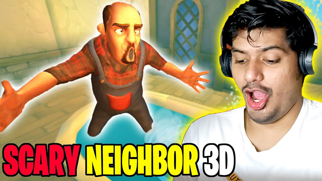 Scary Neighbor 3D Horror Game (Funny Pranks)