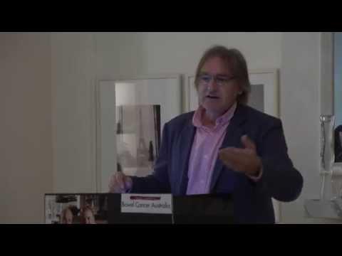 Greg Morgan Bowel Cancer speech