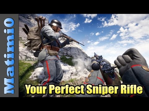 Finding The Perfect Sniper Rifle - Battlefield 1