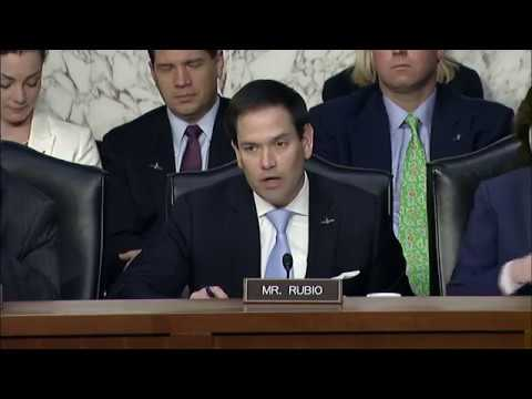 At Haspel Hearing, Rubio Raises Issues of Chinese Influence, Telecommunications in U.S.