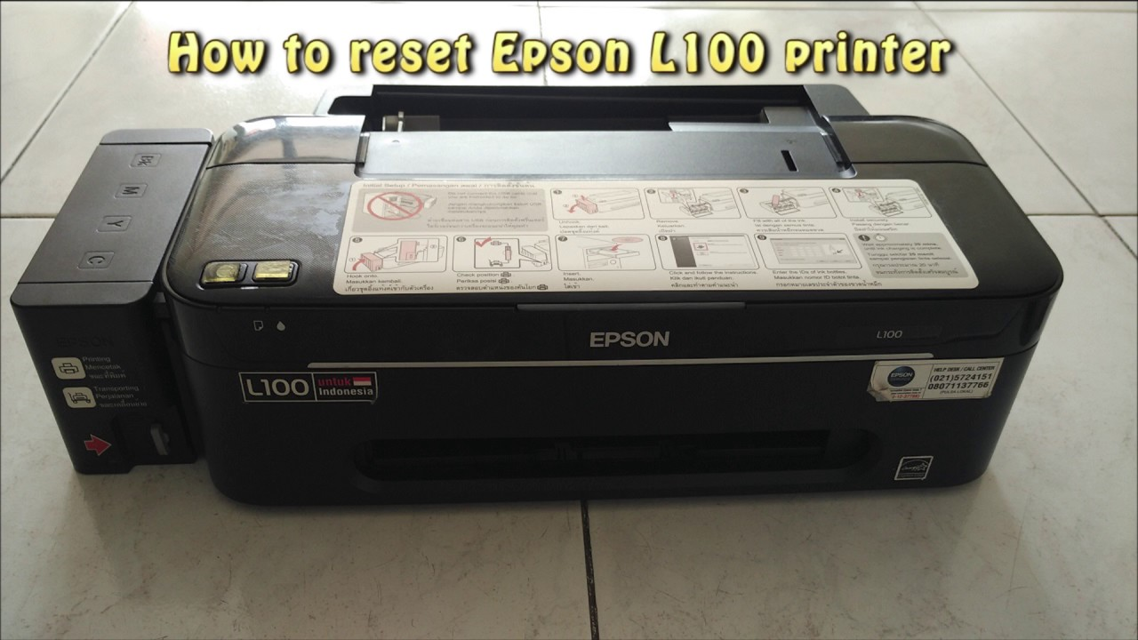 EPSON L100 SERIES WINDOWS 10 DOWNLOAD DRIVER