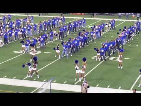 8-20-16 Jr. Colts Cheerleaders Halftime Performance