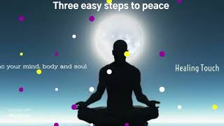 Three easy steps to peace and smiles