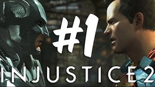Injustice 2 - Story Walkthrough Part 1 Shattered Family