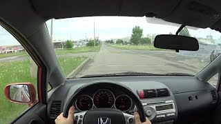 2008 Honda Jazz POV Test Drive