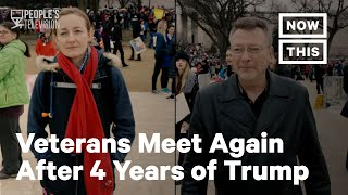 Two Veterans Reconnect 4 Years After One Voted for Trump | NowThis