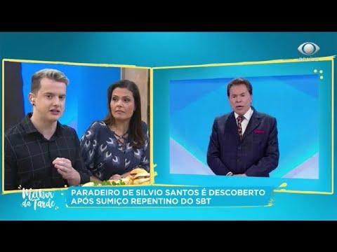 Sumiço de Silvio Santos: Melhor da Tarde mostra paradeiro