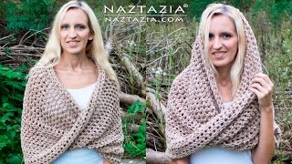 DIY Tutorial - How to Crochet Mobius Twist Shawl and Hooded Cowl - Moebius Wrap