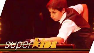 Billard Trick Shots by Matthew (14) | Superkids