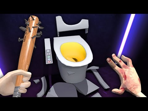 I'm A Maniac With A Broken Hand That Smashes Toilets For The Devil - Hotel R'n'R VR (Valve Index)