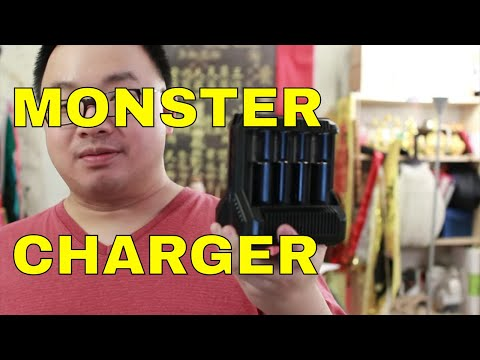 Nitecore Intellicharger I8 - Monster Charger For Serious Flashaholics Review
