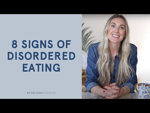 8 Eating Behaviors that May Be Signs of Disordered Eating