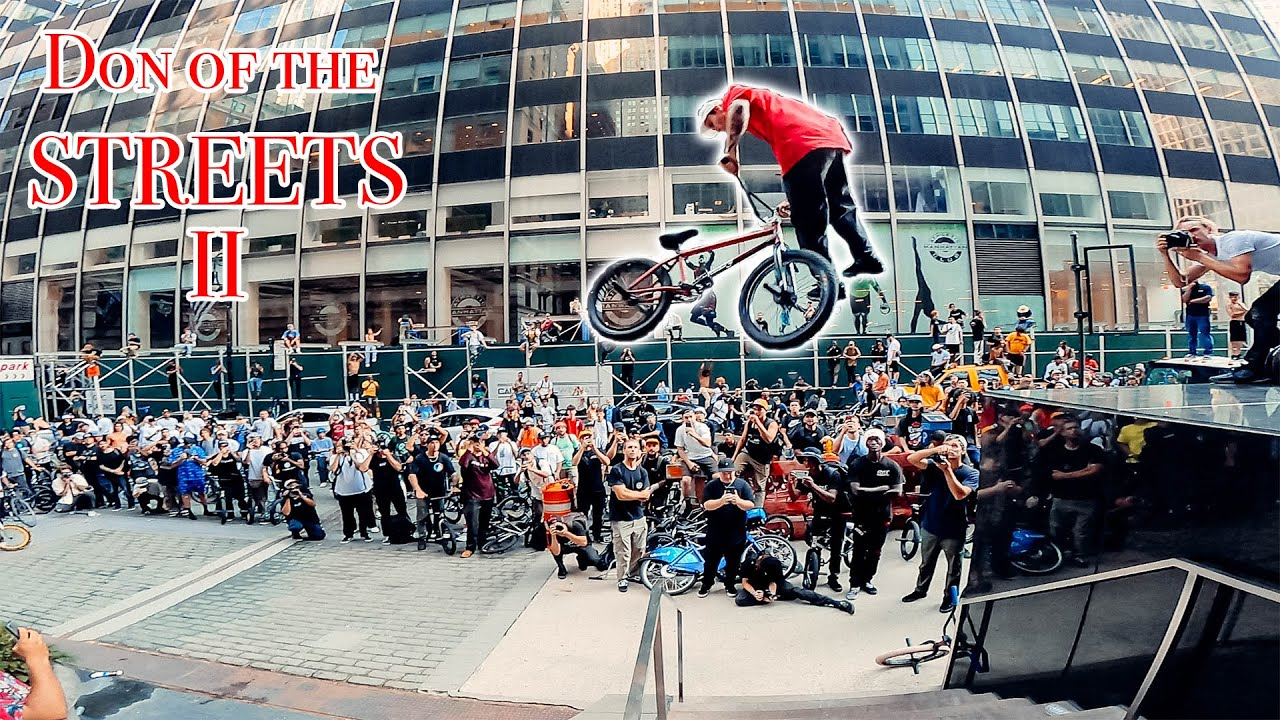 Download BMX Riders Take Over NYC (Don of the Streets 2021)
