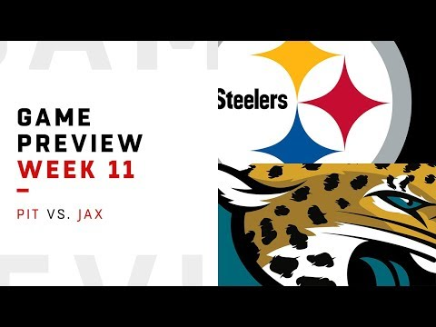 Pittsburgh Steelers vs. Jacksonville Jaguars | Week 11 Game Preview | Move the Sticks