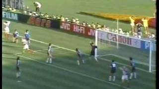 1990 World Cup Yugoslavia vs Argentine (Dragan Stojkovic)