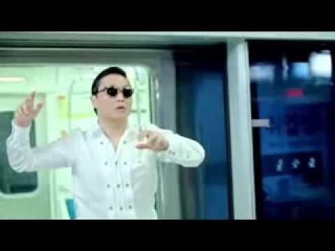 video do psy gangnam style no krafta