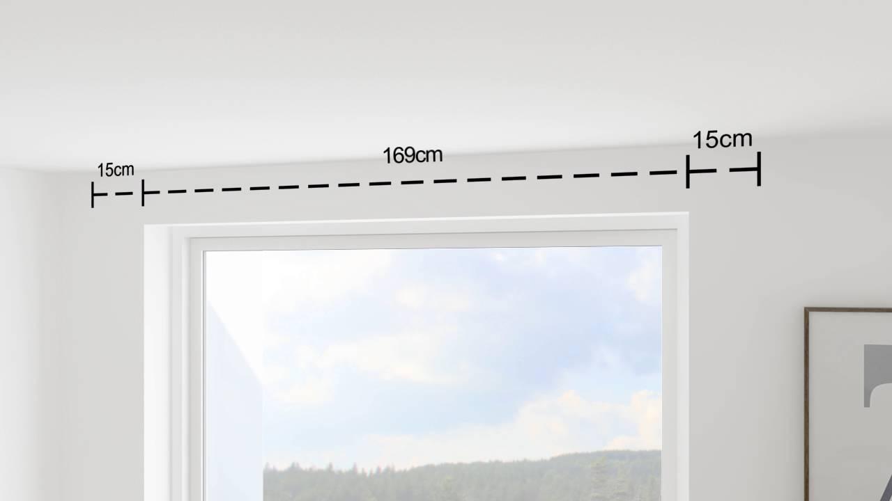 Seriøst Sådan måler du op til gardinstænger | DEBEL - YouTube KE-68