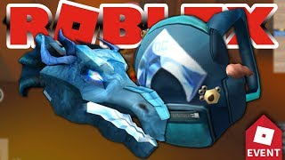 (ROBLOX AQUAMAN) How to get Water Dragon Head or Aquaman Backpack in Roblox Event 2018