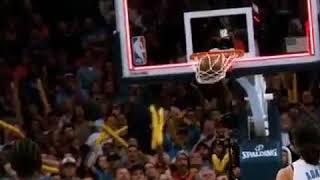 Maple Jordan Andrew Wiggins: Let your game Speak. Game winner against the Thunder!