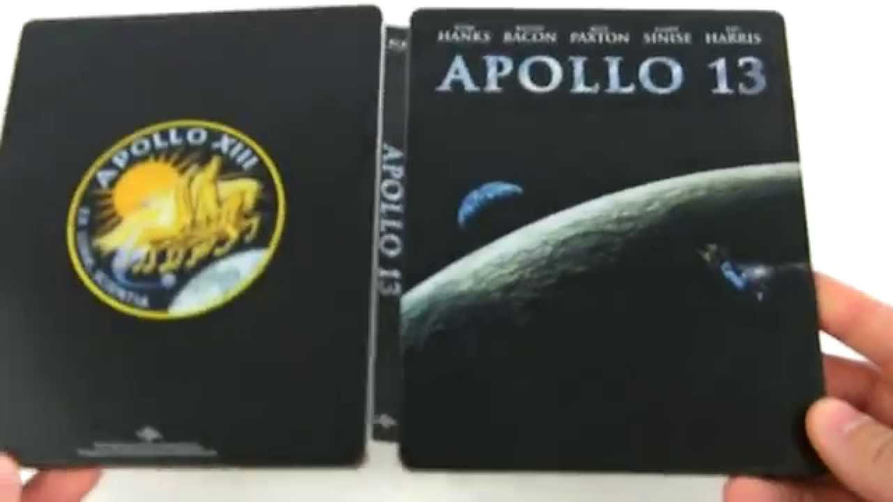 Download Apollo 13 blu ray steelbook fr unboxing