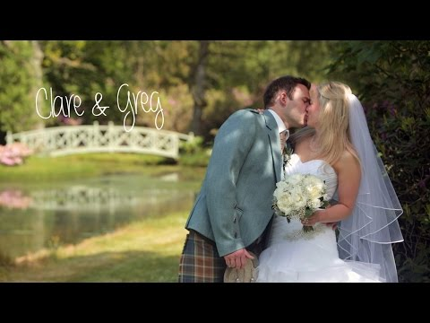 Glencourse House wedding - Clare & Greg