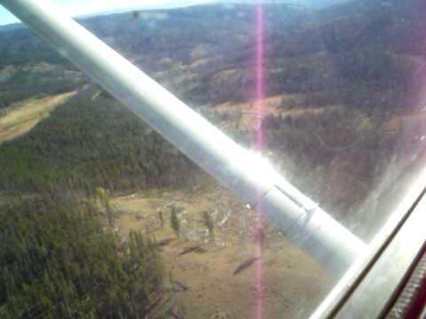 Frank Church Wilderness - Stonebraker  Ranch09 Plane landing