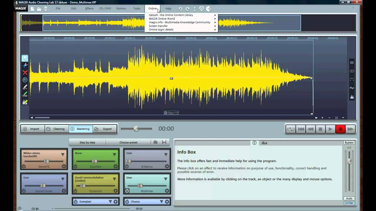 magix audio clinic
