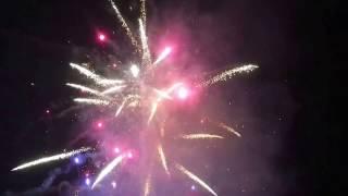 Novoročný ohňostroj vo Vranove nad Topľou