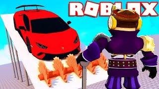 DON'T DRIVE IN THE TRAPPOLA ON ROBLOX!!