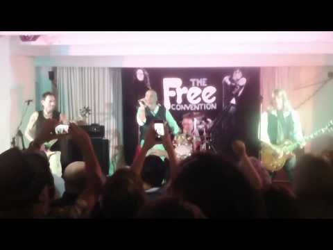Freeway ft Andy Fraser - Songs of Yesterday (Free Cover) @Free Convention Tynmouth 02/08/2013