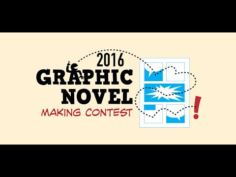 Graphic Novel Making Contest, 2016 Winners